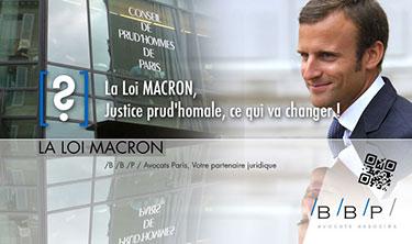 Justice prud'homale et loi Macron - Avocat Paris