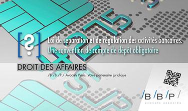 Convention de compte de d p t obligatoire avocat paris le cabinet bbp avocats d 39 affaires - Cabinet avocat paris droit des affaires ...