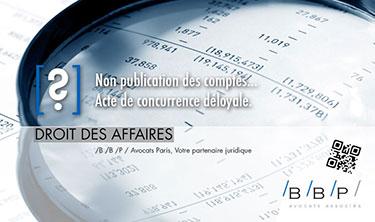Non publication des comptes avocat paris le cabinet bbp avocats d 39 affaires paris - Cabinet avocat paris droit des affaires ...