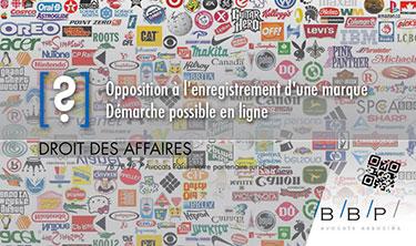 INPI, Opposition à l'enregistrement d'une marque - Avocat Paris