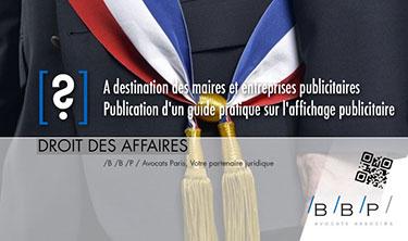 Guide pratique sur l'affichage publicitaire - Avocat Paris