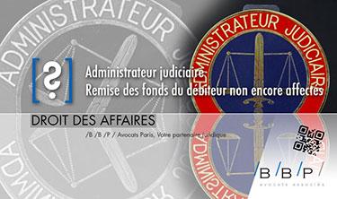 Administrateur judiciaire - Avocat Paris