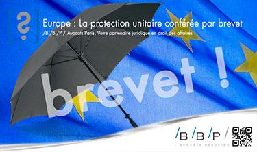 Brevet et dispositions européennes - Avocat Paris