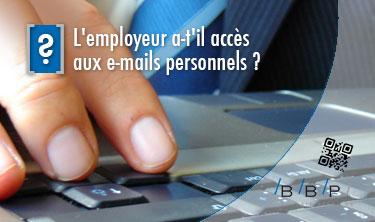 mails personnels
