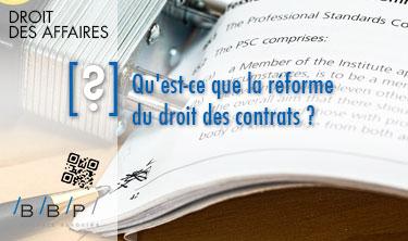 Qu est ce que la r forme du droit des contrats r ponse - Cabinet avocat paris droit des affaires ...