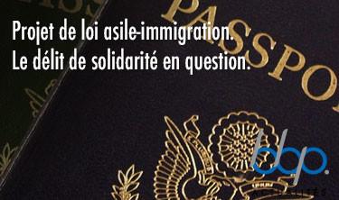Projet de loi asile-immigration. Le délit de solidarité en questions