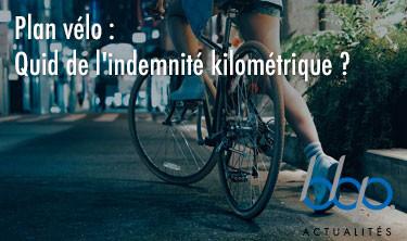 Quid de l'indemnité kilométrique vélo?